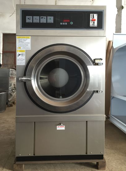 8kg, 10kg, 12kg Gas Heating Commercial Drying Machine, Coin Operated Laundry Machine, Coin Washing Machine Price