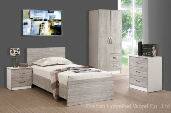 College Student Bedroom Furniture Set For Dormitory Hf Ey08272