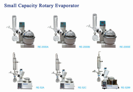 Biobase Hot Sale Small Capacity Laboratory Re-2000e Rotary Evaporator pictures & photos