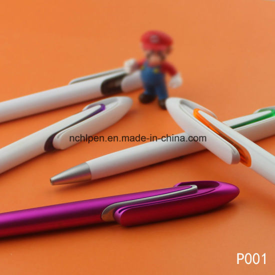 Promotional Gift Plastic Ballpoint Pen for Office Supply Stationery pictures & photos