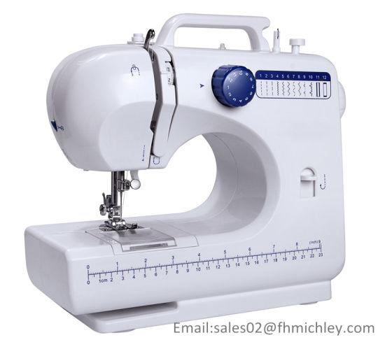 Button Hole Sewing Machine with 12 Stitch Patterns Fhsm-506