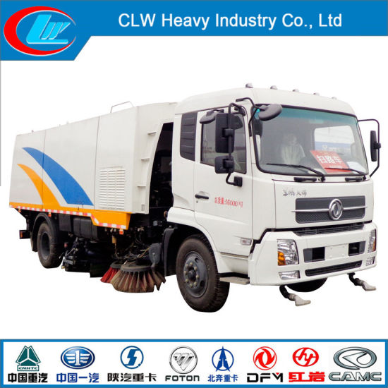 8-10cbm Dongfeng Sweeper Truck of Vacuum Road Sweeper Truck pictures & photos