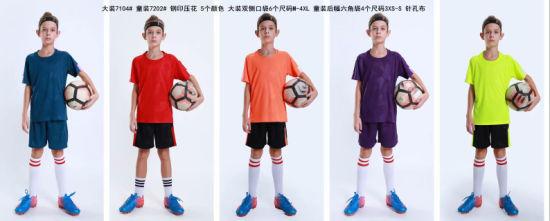 2019 Fashion Kid Soccer Jerseys Youth Football Uniforms
