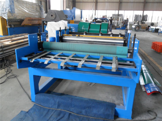 Steel Plate Hydraulic Cutting Machine/Slitting Forming Machine pictures & photos