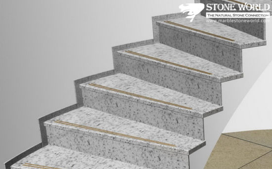White Granite Stair Steps For Indoor (ST022)
