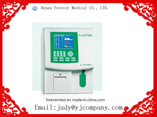3-Part Auto Cbc Hematology Analyzer Clinical Analyzer pictures & photos