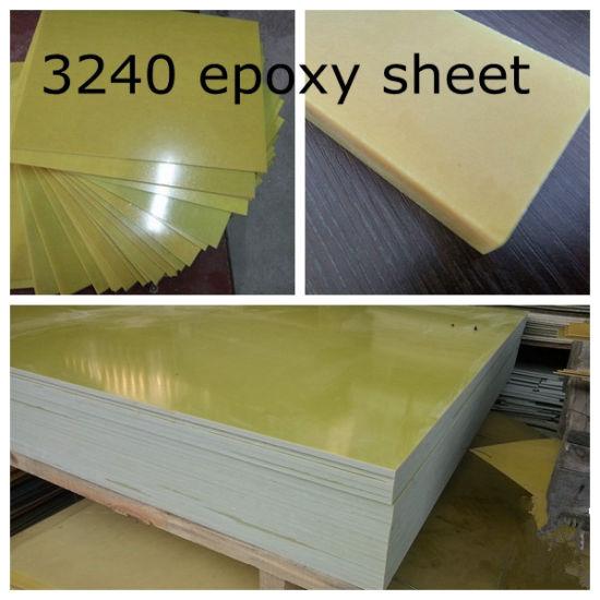 China 3240 Epoxy Fiberglass Cloth Insulation Sheet China