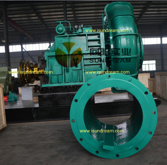 20-24-30 Inches Gear Built-in Sand Gravel Dredger Pump / Dredging/Dredge Slurry Water Pump pictures & photos
