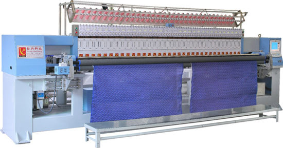 New Computerized Multi Head Quilting and Embroidery Machine for Garments and Textile