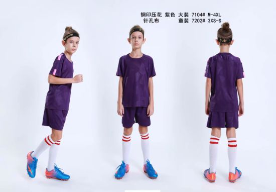 2019 Fashion Kid Soccer Jerseys pictures & photos