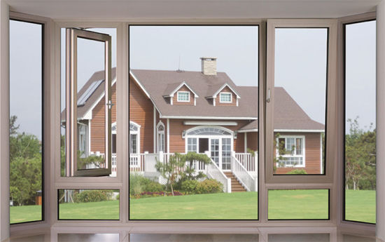 Great Design White Color Aluminum Casement Window pictures & photos
