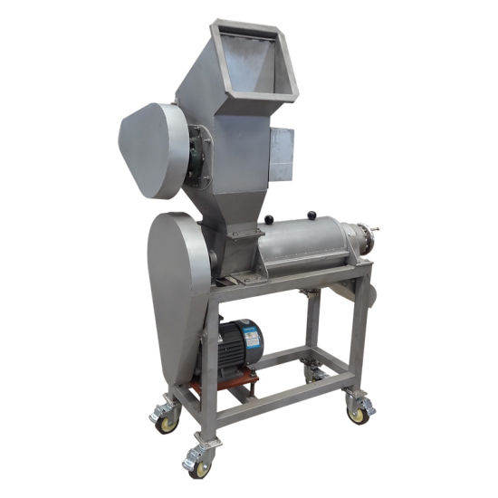 Food Sanitary Stainless Steel 500kg/H Fresh Fruit Crusher and Juicer
