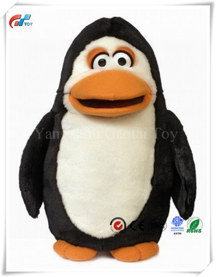 """17"""" Silly Penguin Animal Hand Puppet"""