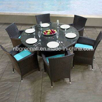Rattan Dining Round Table and Chair Set pictures & photos