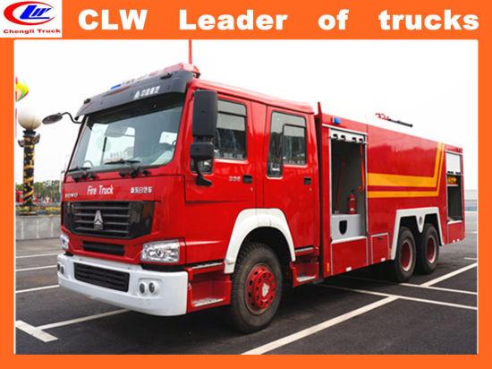 6*4 Sinotruk Steyr Fire Fighting Trucks