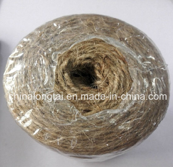 5mm High Tenacity and Low Price Twisted Jute Rope (SGS) pictures & photos