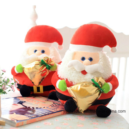 Plush Soft Christmas Lovely Santa Claus Toy pictures & photos