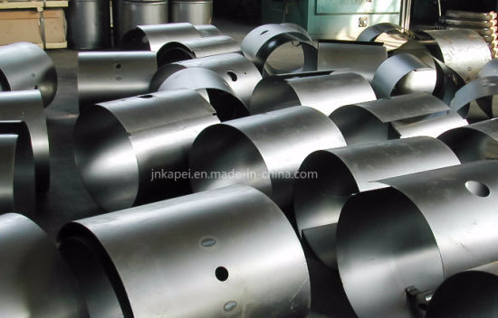 Customized Steel Plate Round Hydraulic Oil Tank /Fuel Tank for Truck