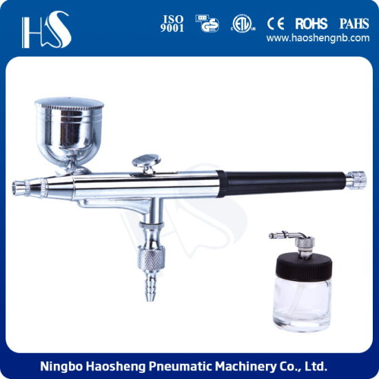 China Hs 34 Super Deluxe Cake Decorating Airbrush System Kit