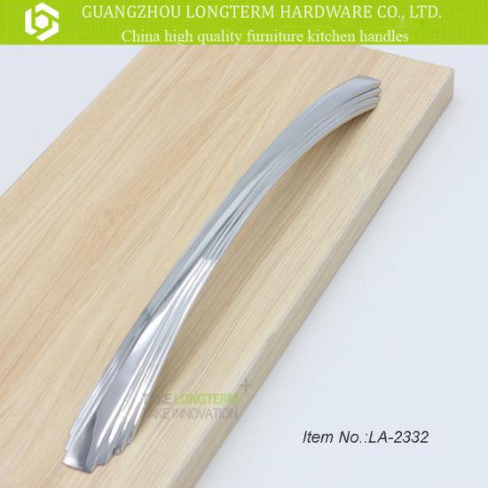 C Shape Furniture Hardware Pulls Kitchen Cabinet Long Handles