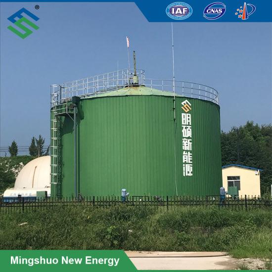Biogas Fermentation Tank for Cassava Waste Treatment