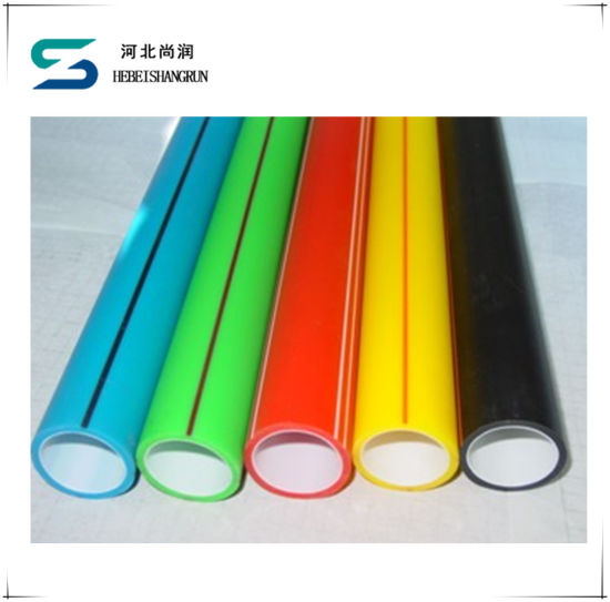High Density Polyethylene 40/33 Fiber Optic HDPE Silicon Core Pipe pictures & photos