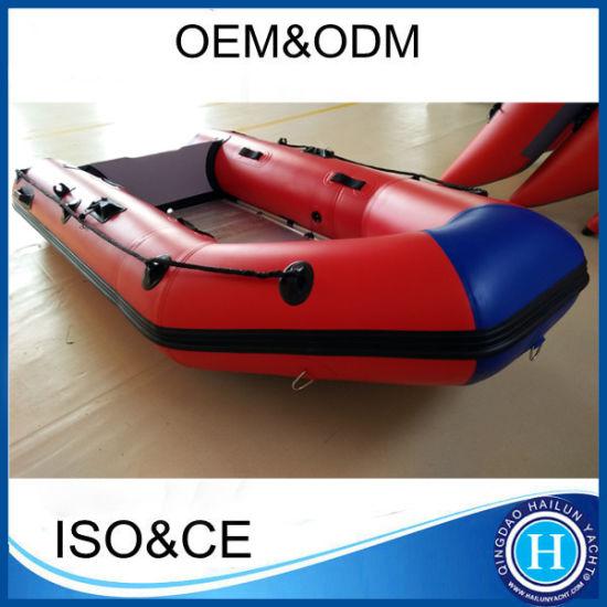Foldable Aluminum Floor Inflatable Sports Boat Motor Boat
