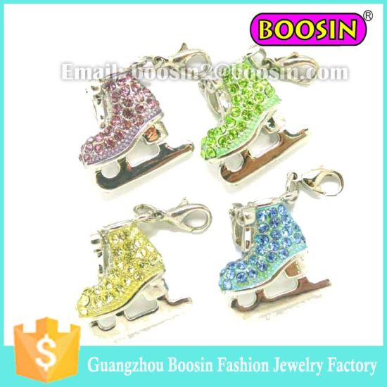 Spanish Roller Skate Crystal Jewelry Fashion Accessories #3765 pictures & photos
