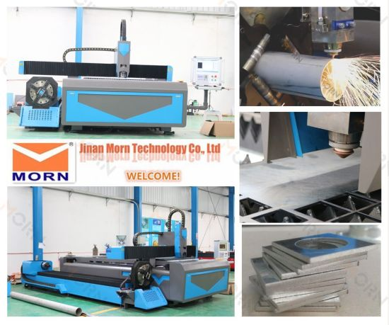 Round / Square / Rectangular Tube / Oval Tube / Pipe CNC Fiber Laser Metal Cutting Machine Price pictures & photos