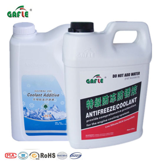 Ethylene Glycol Antifreeze >> China Gafle Oem Manufacturers Car Waterless Ethylene Glycol