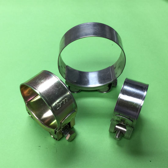 201 Stainless Steel Hose Clamps Tube Clips Pipe Brackets 24 sizes available