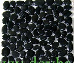 China Polished Black Landscape River Cobble & Pebble Stones for Swimming Pool pictures & photos