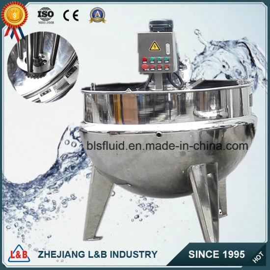 Industrial Steel Chilli Paste High Shear Homogenizer (jacket kettle)