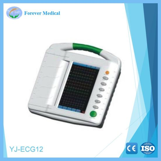 Medical Diagnosis Digital Electrocardiograph Series (YJ-ECG12) pictures & photos