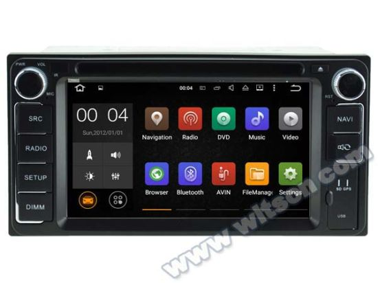 Witson Android 5.1 Car DVD GPS for Toyota RAV4 pictures & photos