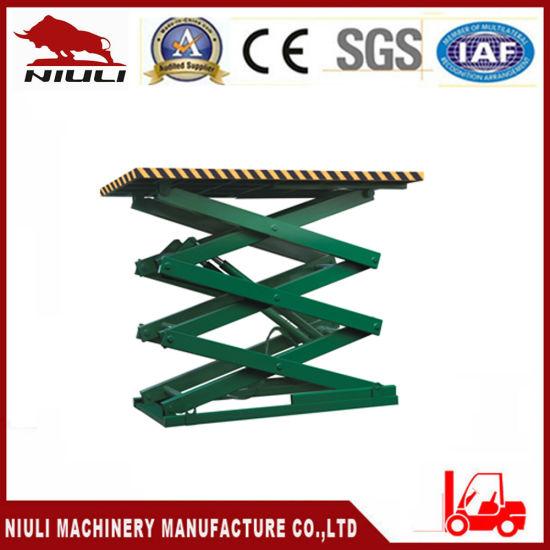 Niuli Cargo Lifter Equipment Hydraulic Lift Table