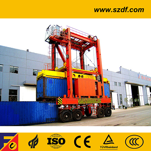 Container Straddle Carrier (DKA403) pictures & photos