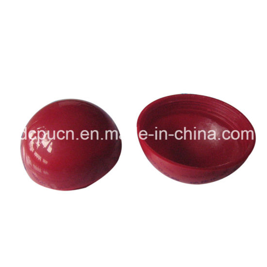 Red Nylon Spare Part Ball Tools / Ball Wheel / Solid Decorative Plastic Hollow Ball