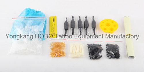 Professional Tattoo Kits with Tattoo Machines Gun Accessories Power Supply pictures & photos