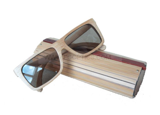 Bamboo and Wooden Sunglasses Case pictures & photos