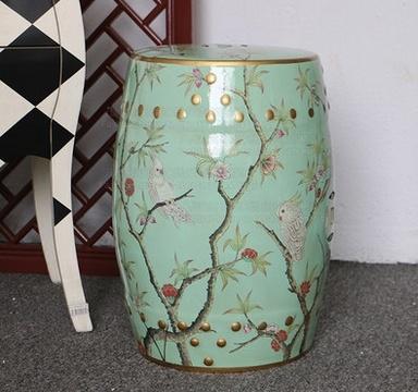 Bon Chinese Porcelain Garden Stool