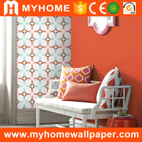 Decorative Paper 3D Flowers Wall Covering Wallpapers pictures & photos