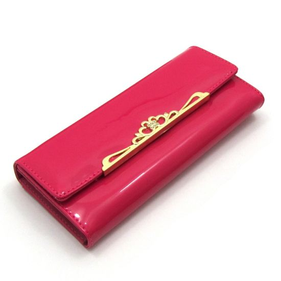 PU Leather Ladies Fashion Purse Women Wallets pictures & photos