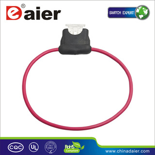 Automotive Mini Blade Fuse Holder with Wire (F108-C) pictures & photos