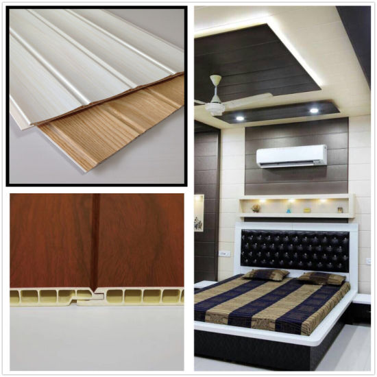 Wooden Pvc Lamianted Panel Plastic Wall Panel Ceiling Panel