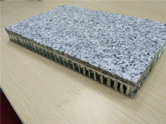5mm Granite Stone Composite with Honeycomb Panels Stone Honeycomb Composite Wall Cladding Panels pictures & photos