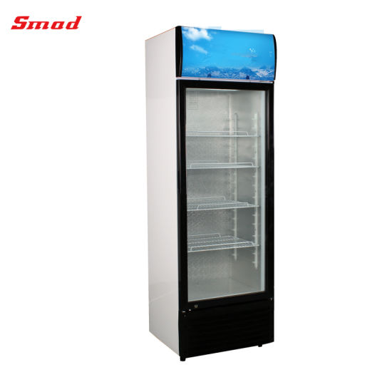 China Commercial Freezer Showcase Soft Drink Fridge Beverage