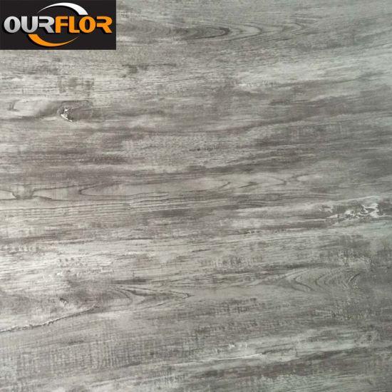China New Color Grain WPC Vinyl Flooring Tiles With Click - Interlocking vinyl flooring tiles
