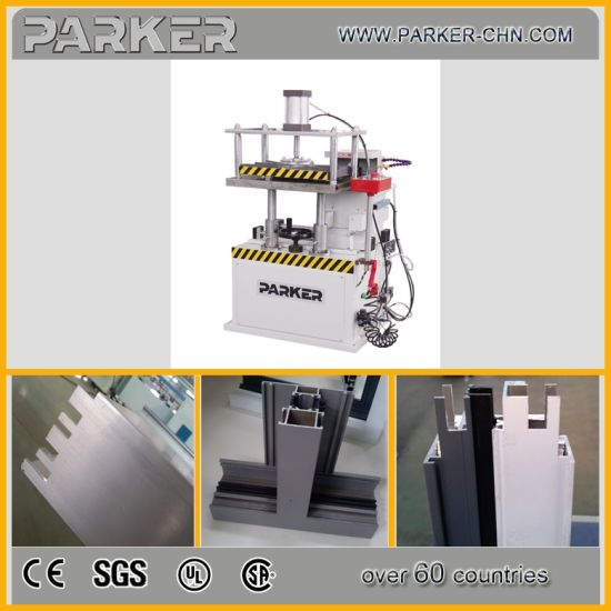 Ce Approved Alu-Alloy PVC Multi Profile Automatic End Milling Machine pictures & photos