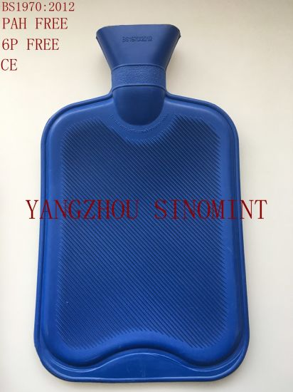 Classic 1.8 Litre BS Rubber Hot Water Bottle pictures & photos
